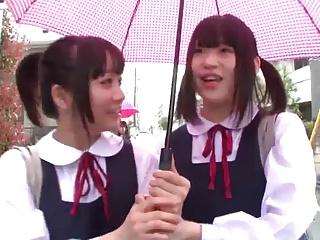 Pansy Schoolgirl Affray (1 of 3 censored)