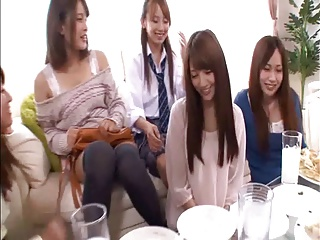Japanese Lesbians (A special birthday party and present)