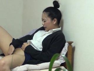 Japanese teen fingers