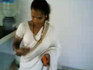 tamil show titties in kitchen