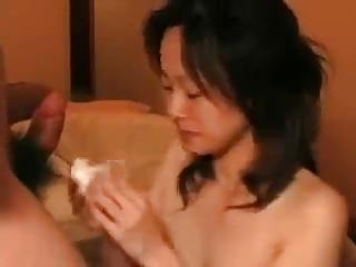 Amateur Japanese Facial