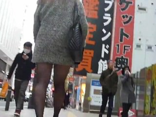 kinkyandlonelycom Candid asian pantyhose 12