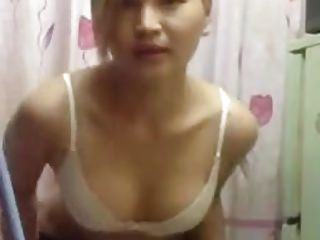 Arab dance tease by Asian girl