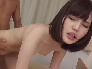 Skinny Asian creampie