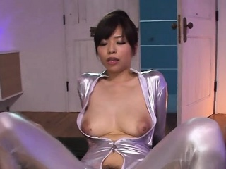 Smoking sexy japanese woman is cheerful to roughly a ride