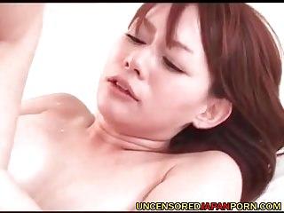Uncensored Japanese Hardcore MILF porn Stockings cougar lovemaking