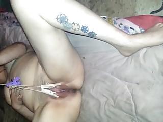 Slut gf self torture