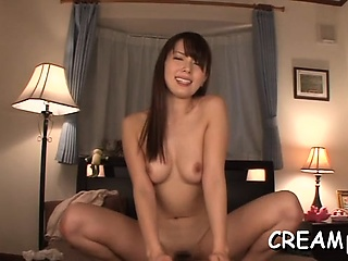 Sceraming doxy gets fucked good and ends move along disintegrate a creampie