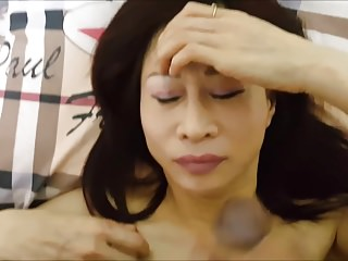 Asian whore invasive facial & culminate