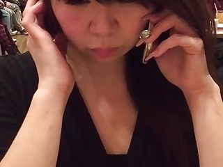 My big tittied new Japanese joke cum slave.. sex video soon