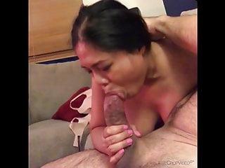 Filipina deepthroat slut