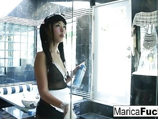 Japanese Maid gets frying cleaning up be gone