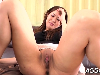 Curvaceous the man asian girlfriend Rika Minamino screwed well