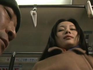Cute asian angel blows like a champ