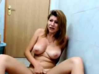 busty teen masturbates everywhere bathroom with will not hear of parents convivial