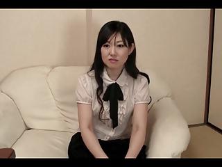 37yr aged Hairy Shino Terada gets Creamed (Uncensored)