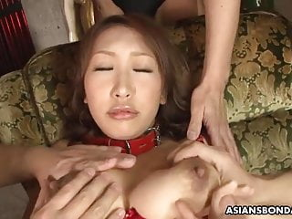 Kookie is a perfect, busty sex slave in erotic lingerie