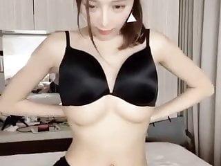 Sexy chinese girl big boobs bra