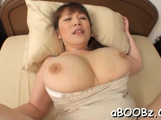 Hot of age idol Nami Horikawa with big tits enjoys reject be captivated by