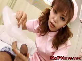 Akane Hotaru Hot Japanese nurse is hot