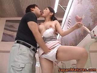 Juri Yamaguchi Asian model enjoys part6