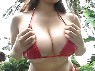 SEXY BIG TITS ASIAN MILF TEASING YOU