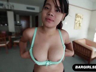 Thick Asian Amateur Blows And Tittyfucks Her Boyfriend