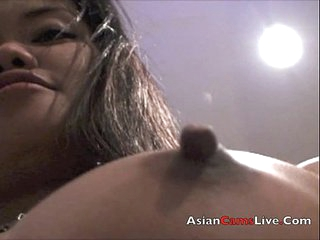 Asian Stripper and bar girl gets nude in FilipinaCamsLive.Com Chats
