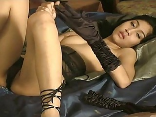 Asian Jade Masturbates For Us