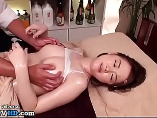 Jav massage prevalent 18yo beauty went too far