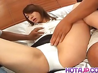 Hot japan girl Mitsu Anno fucked play with sex dildo