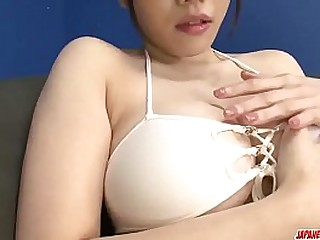Hot japan girl Azusa Nagasawa excellent intercourse gewgaw play in pretty movie