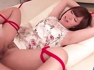 Hot japan girl Chihiro Nishikawa in BDSM scene