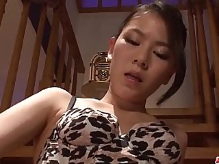 Hot japan girl Kei Akanishi fisting, licking dick and pleasure hardcore sex