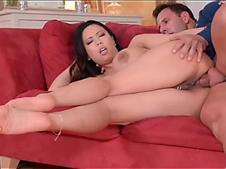 Breasty Oriental Tigerr Benson drilled in the ahole